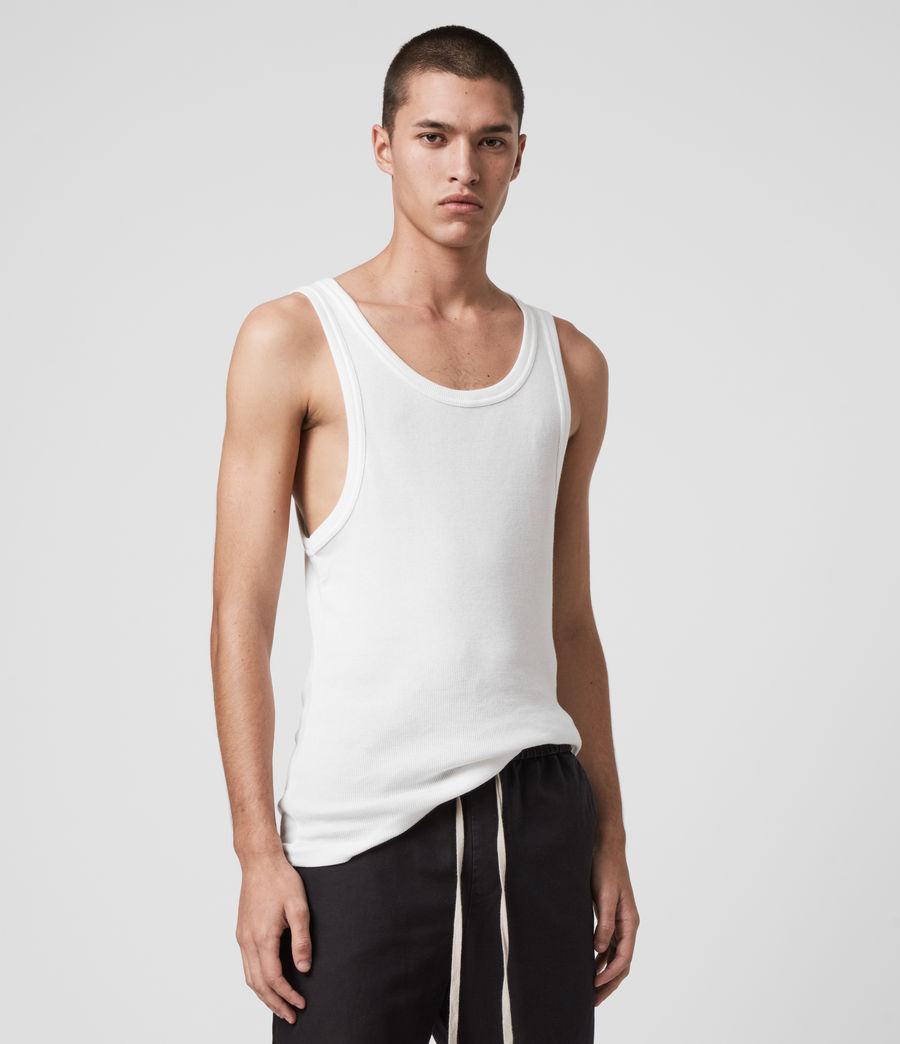 Men's Darius Vest (chalk_white) - Image 4