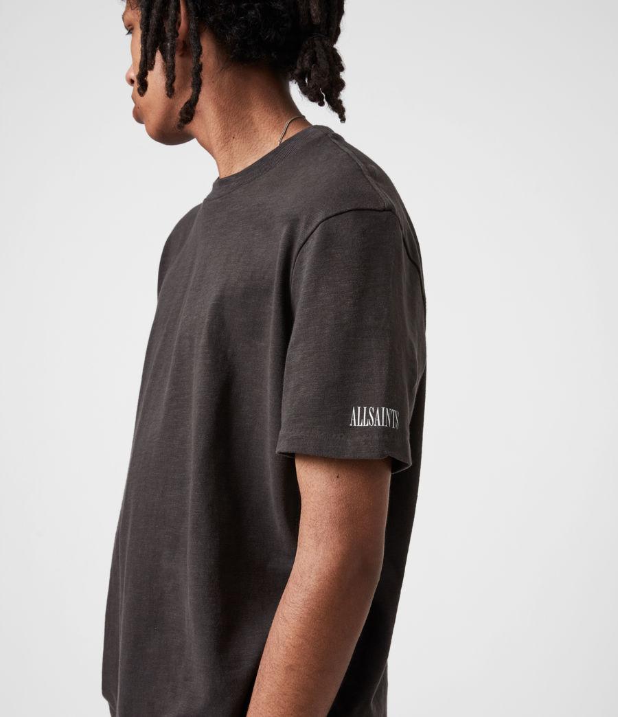 Men's Seri Crew T-Shirt (black) - Image 4