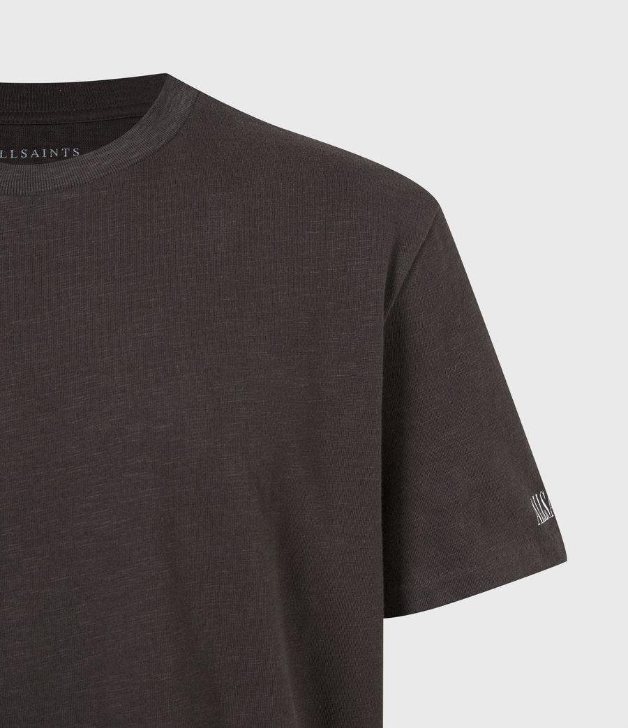 Men's Seri Crew T-Shirt (black) - Image 5