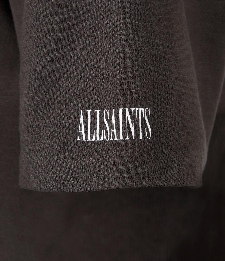 Men's Seri Crew T-Shirt (black) - Image 6