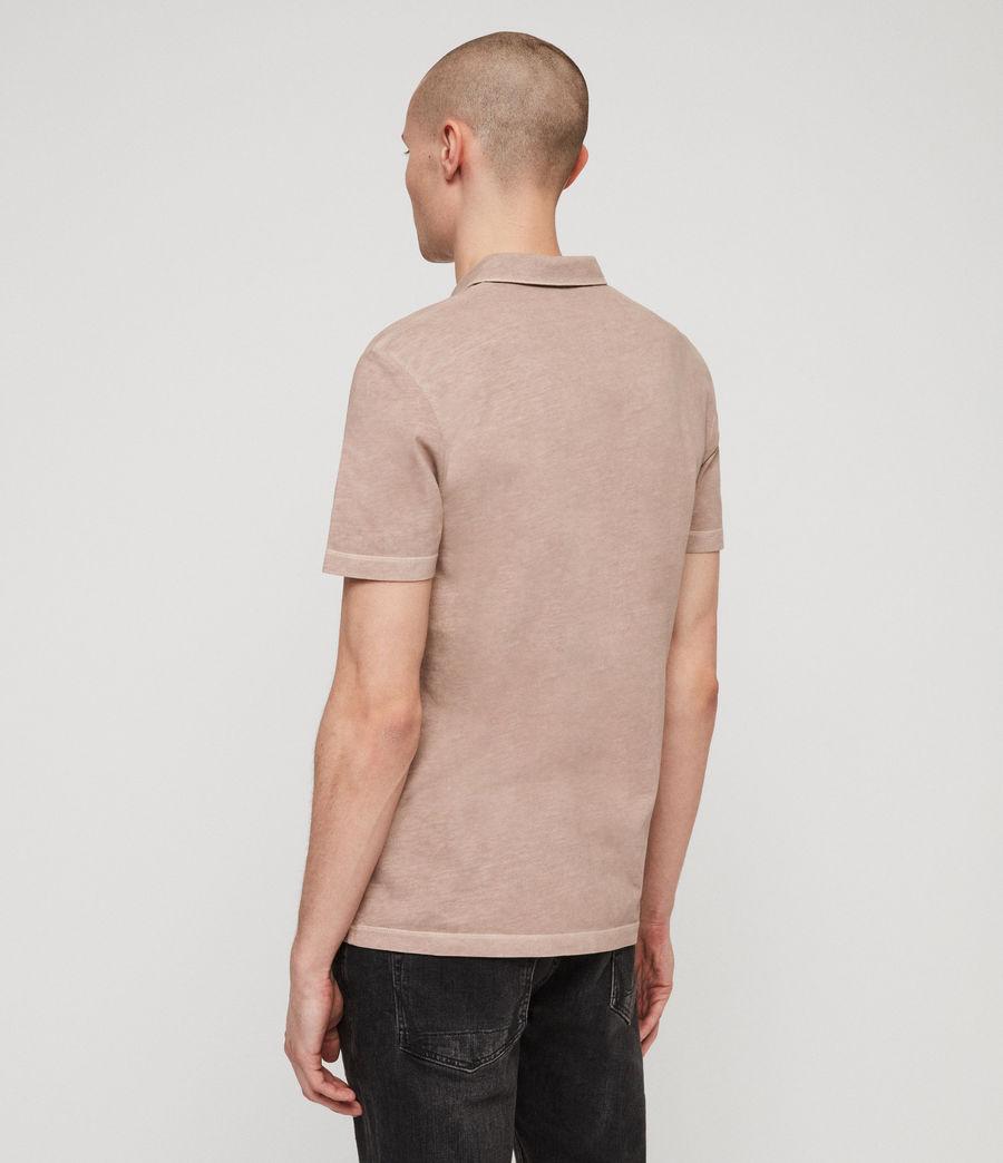 Hommes Polo Ossage (mushroom_pink) - Image 5