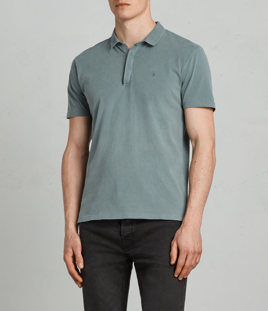 Uomo Polo Ossage (larch_green) - Image 1