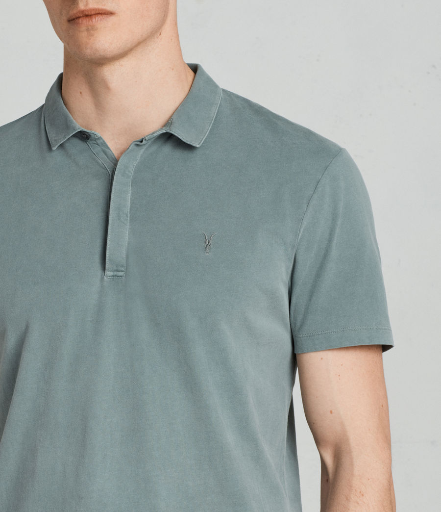 Uomo Polo Ossage (larch_green) - Image 2
