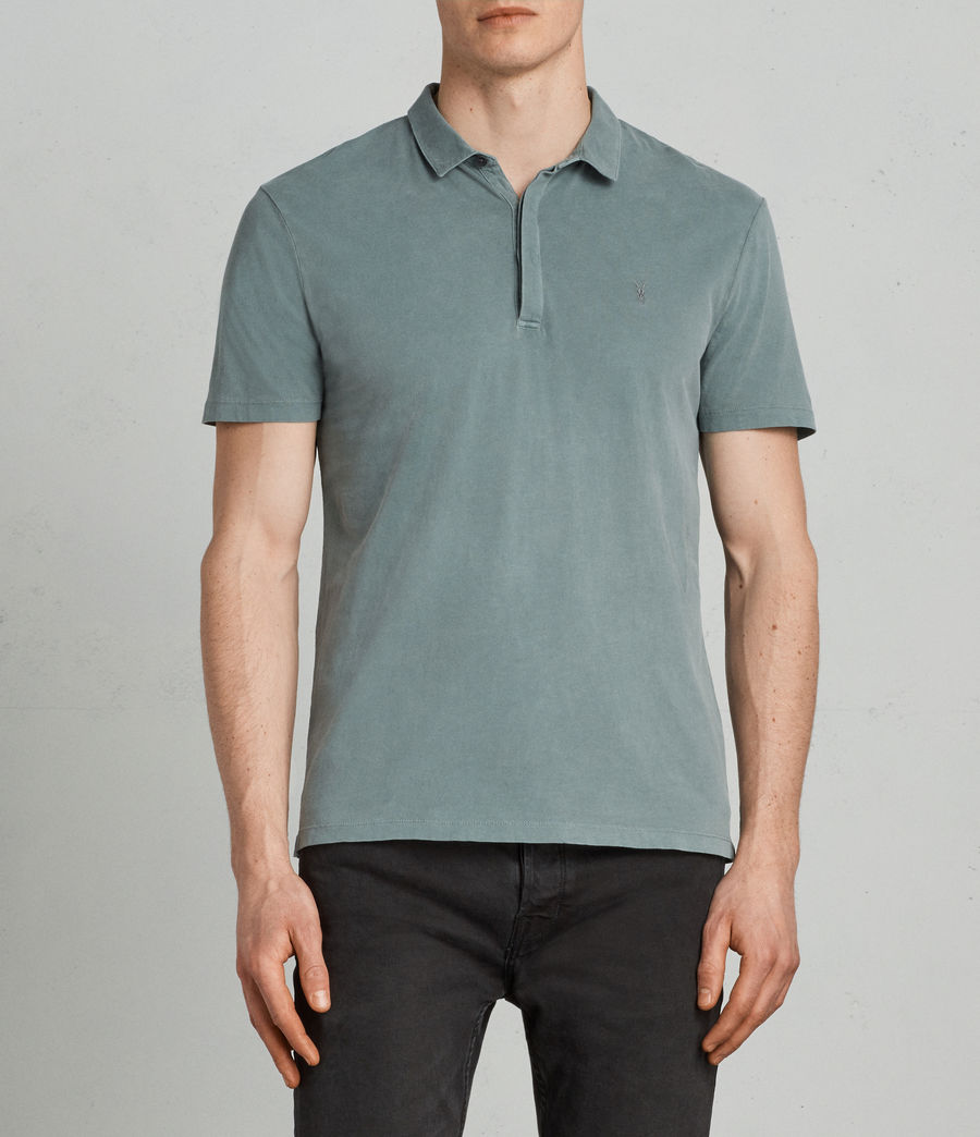 Uomo Polo Ossage (larch_green) - Image 3