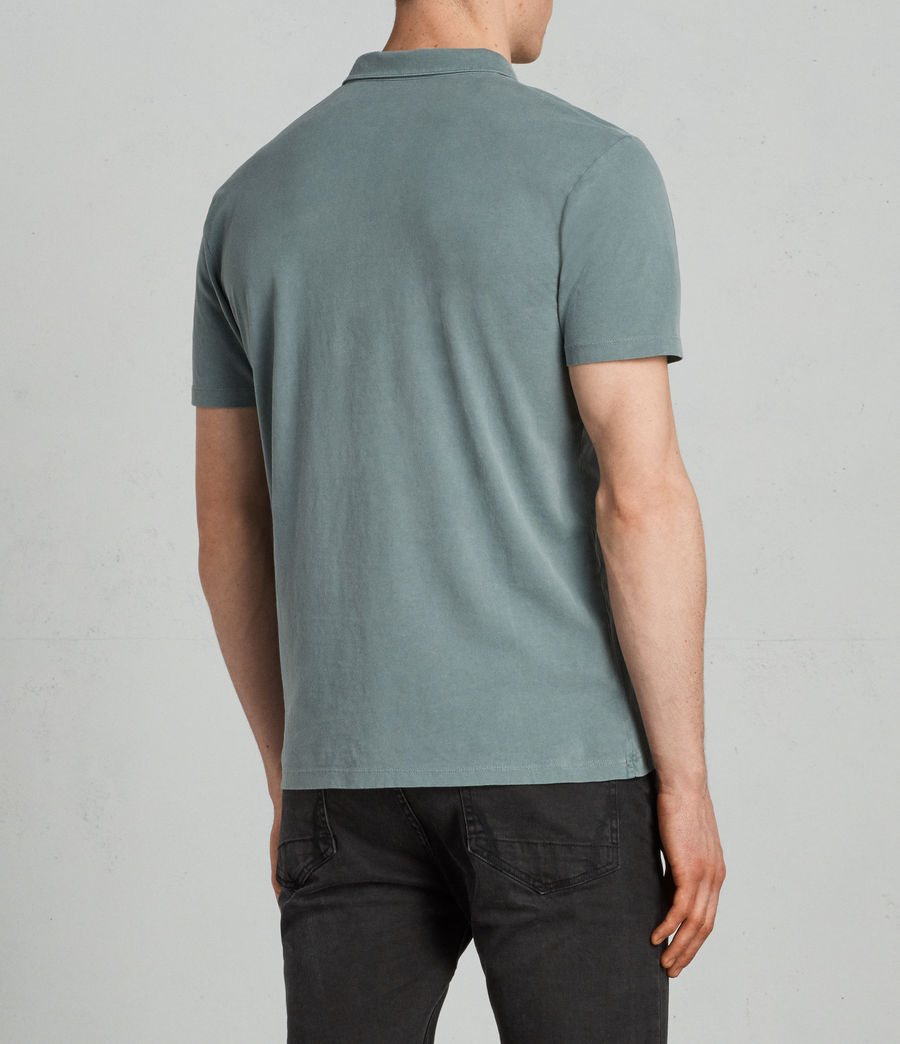 Uomo Polo Ossage (larch_green) - Image 4