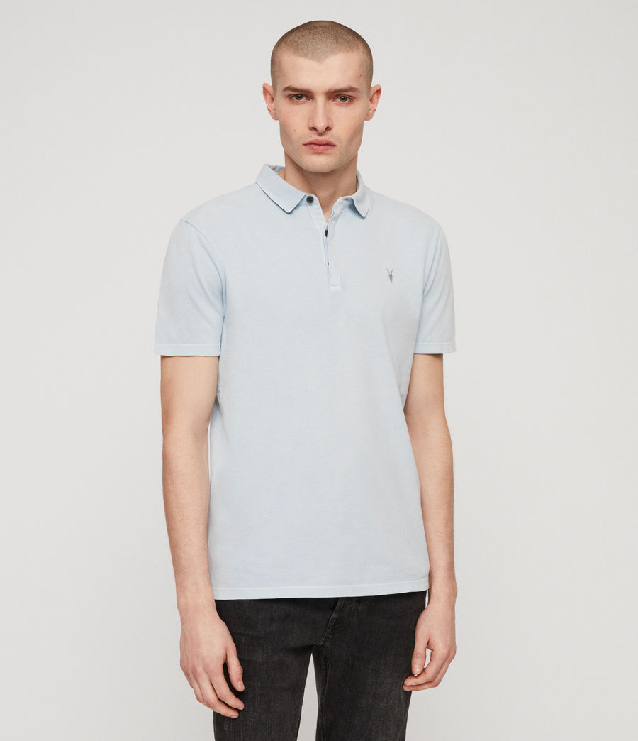 Mens Ossage Polo Shirt (sol_blue) - Image 1