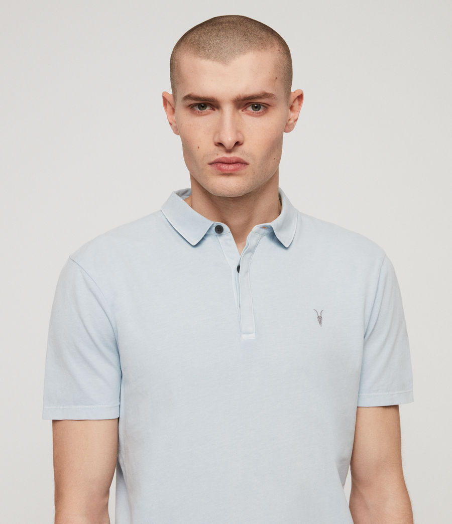 Mens Ossage Polo Shirt (sol_blue) - Image 2