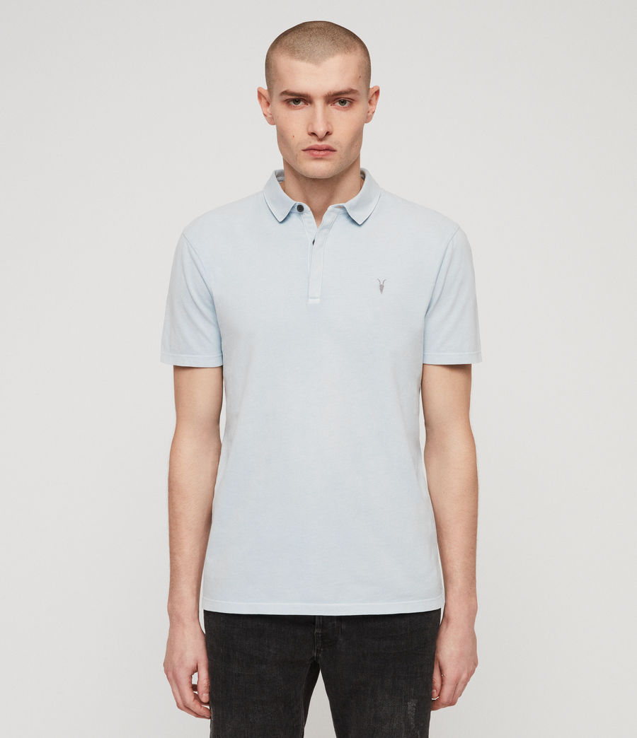 Mens Ossage Polo Shirt (sol_blue) - Image 5