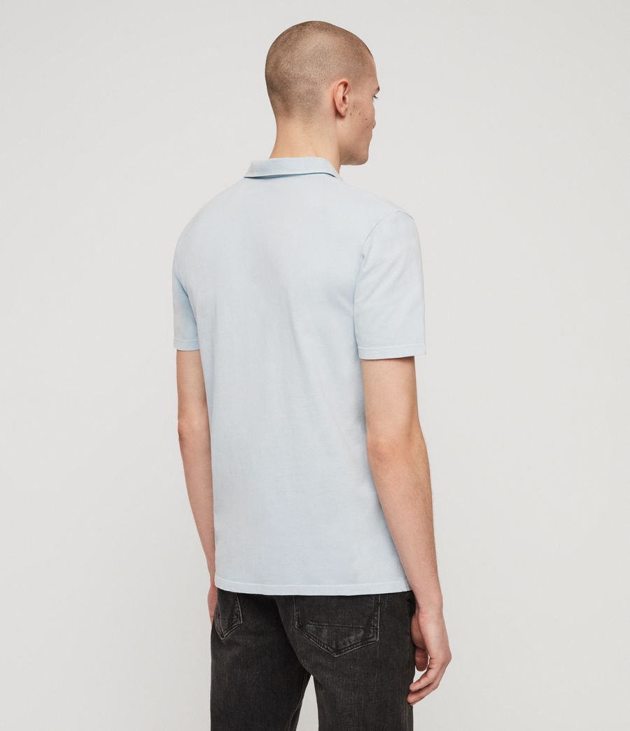 Mens Ossage Polo Shirt (sol_blue) - Image 6