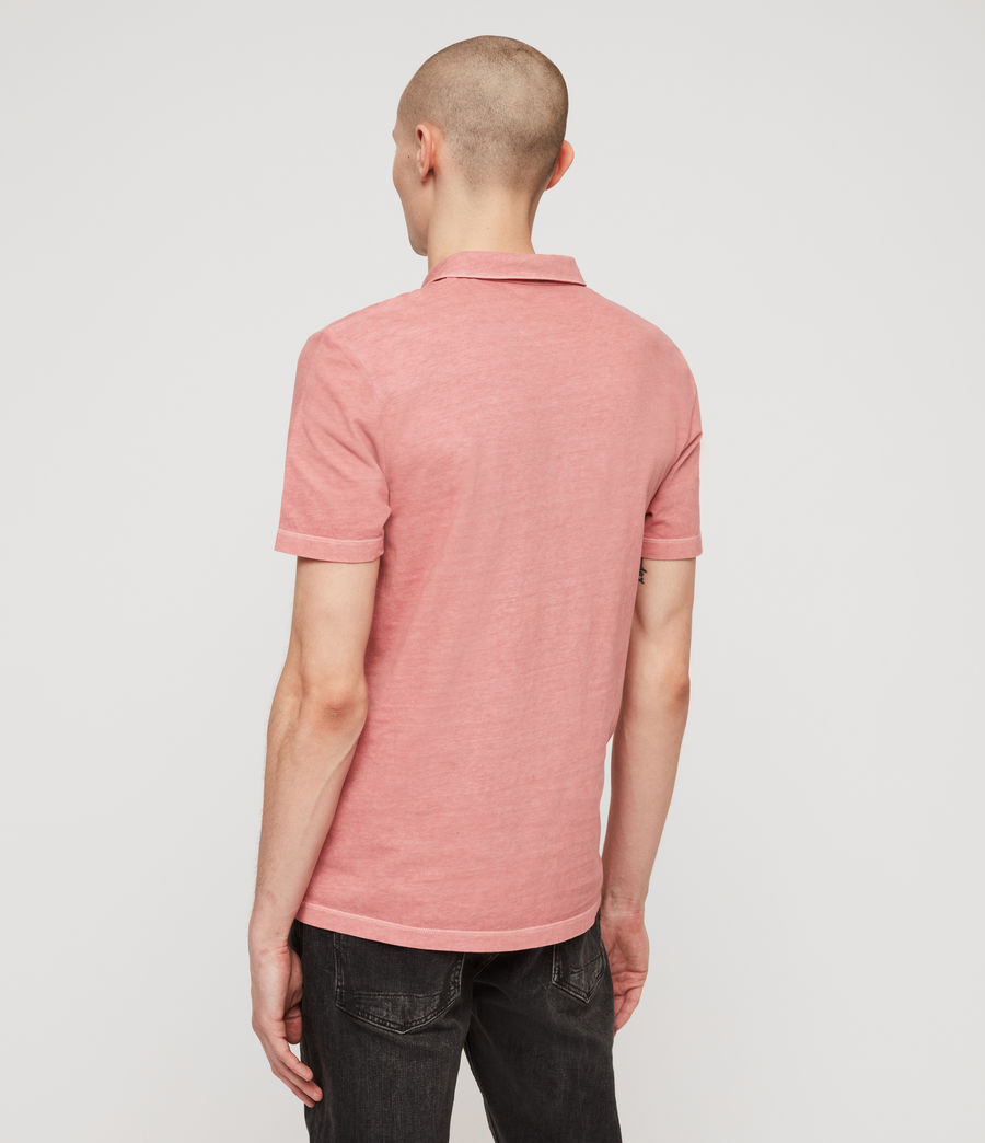 Men's Ossage Polo Shirt (moth_pink) - Image 5