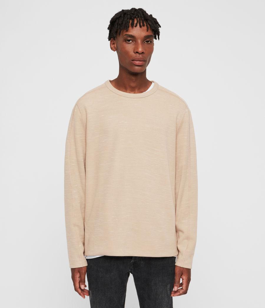 Mens Garnet Crew T-Shirt (taupe) - Image 1