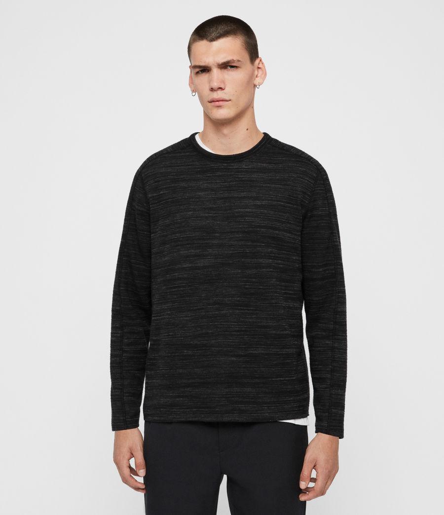 Men's Garnet Crew T-Shirt (black) - Image 1