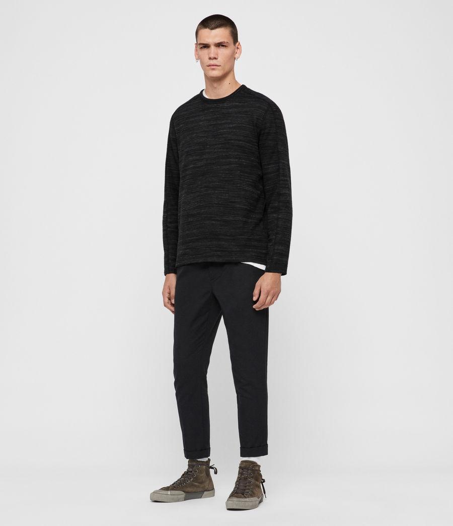 Men's Garnet Crew T-Shirt (black) - Image 3