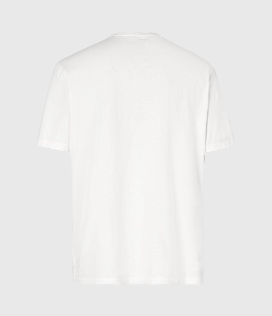 Mens Amar Crew T-Shirt (ash_white) - Image 3