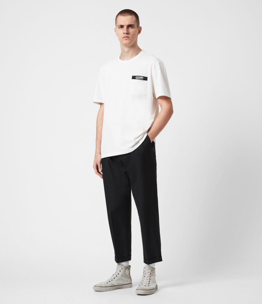 Mens Amar Crew T-Shirt (ash_white) - Image 4