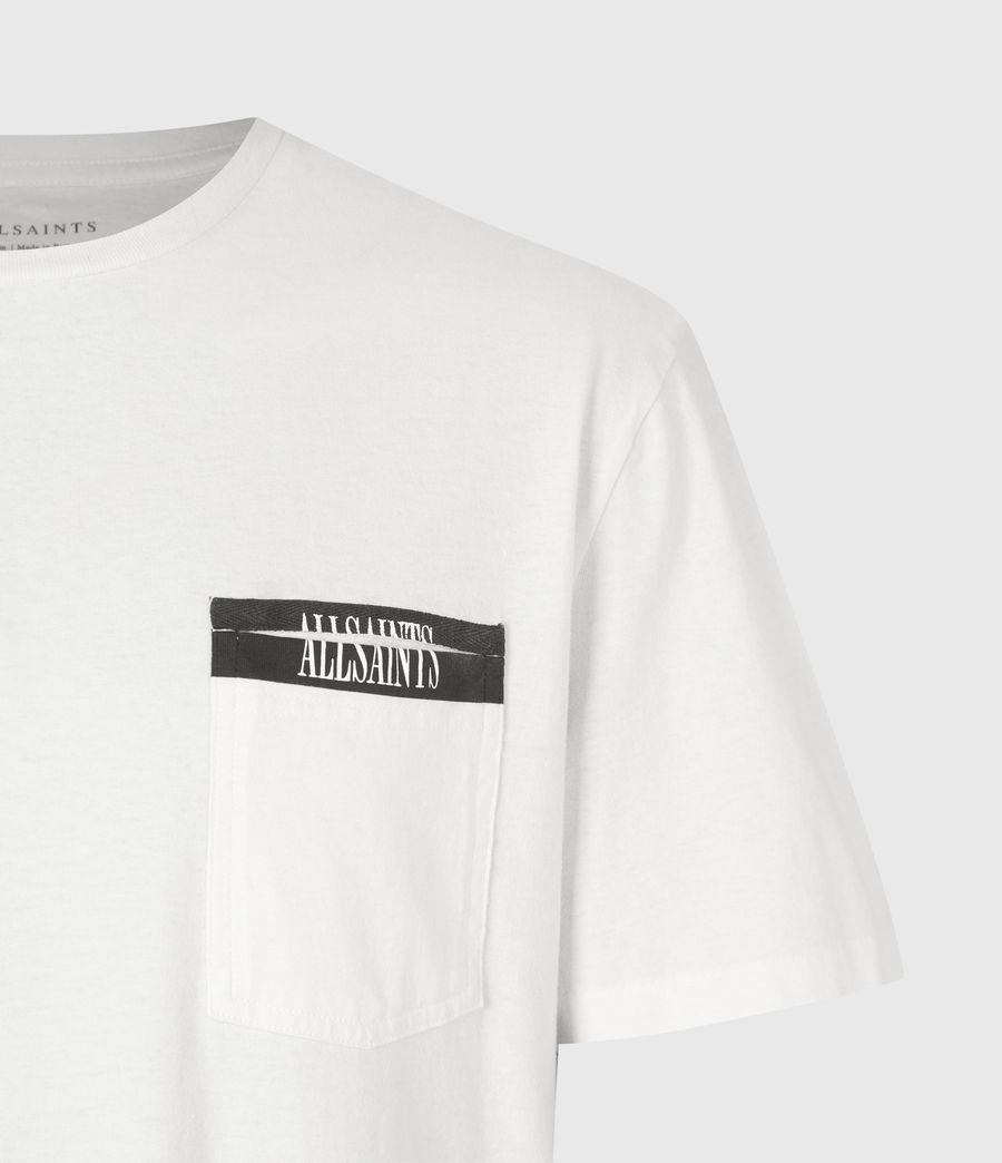 Mens Amar Crew T-Shirt (ash_white) - Image 5
