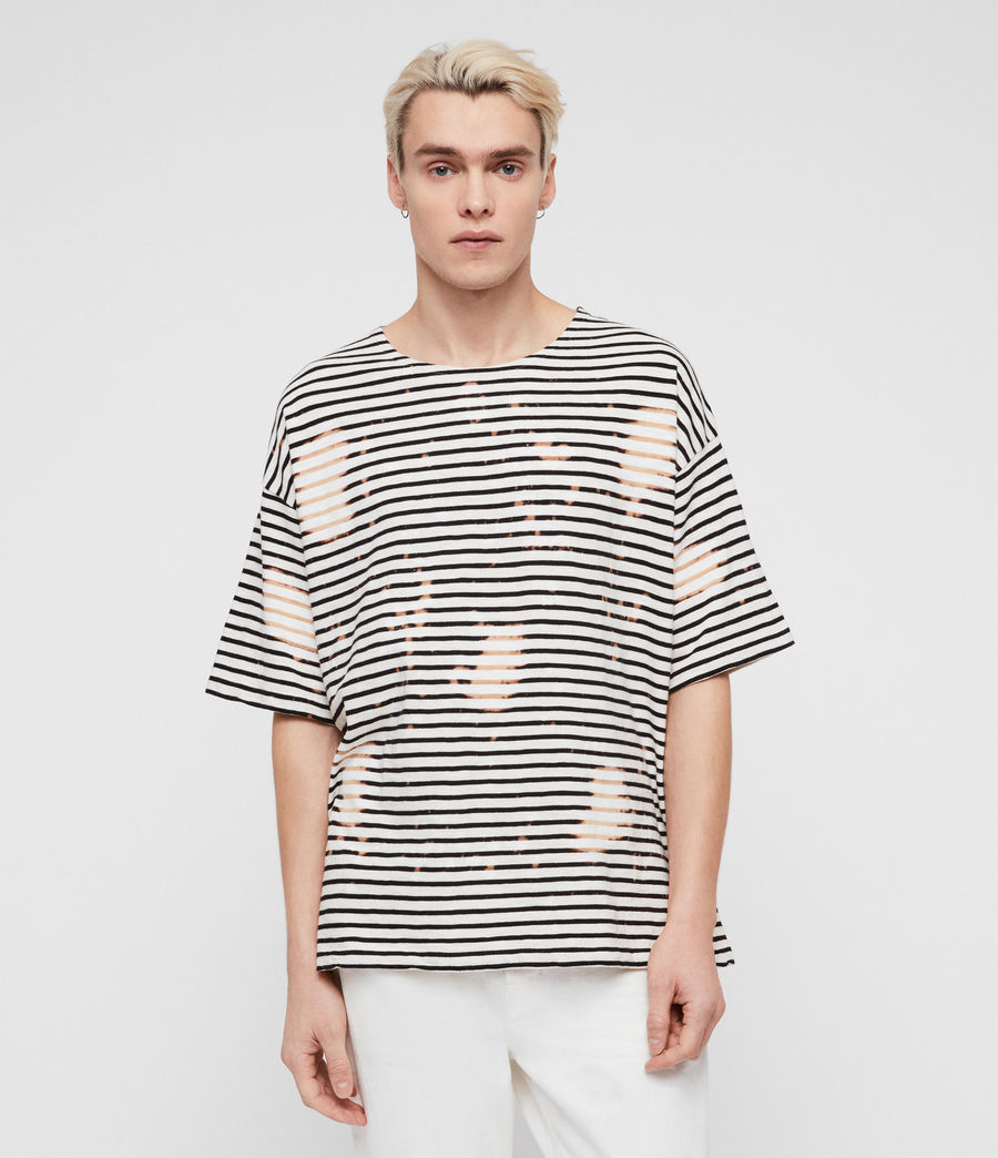 Men's Island Crew T-Shirt (chalk_white_black) - Image 1