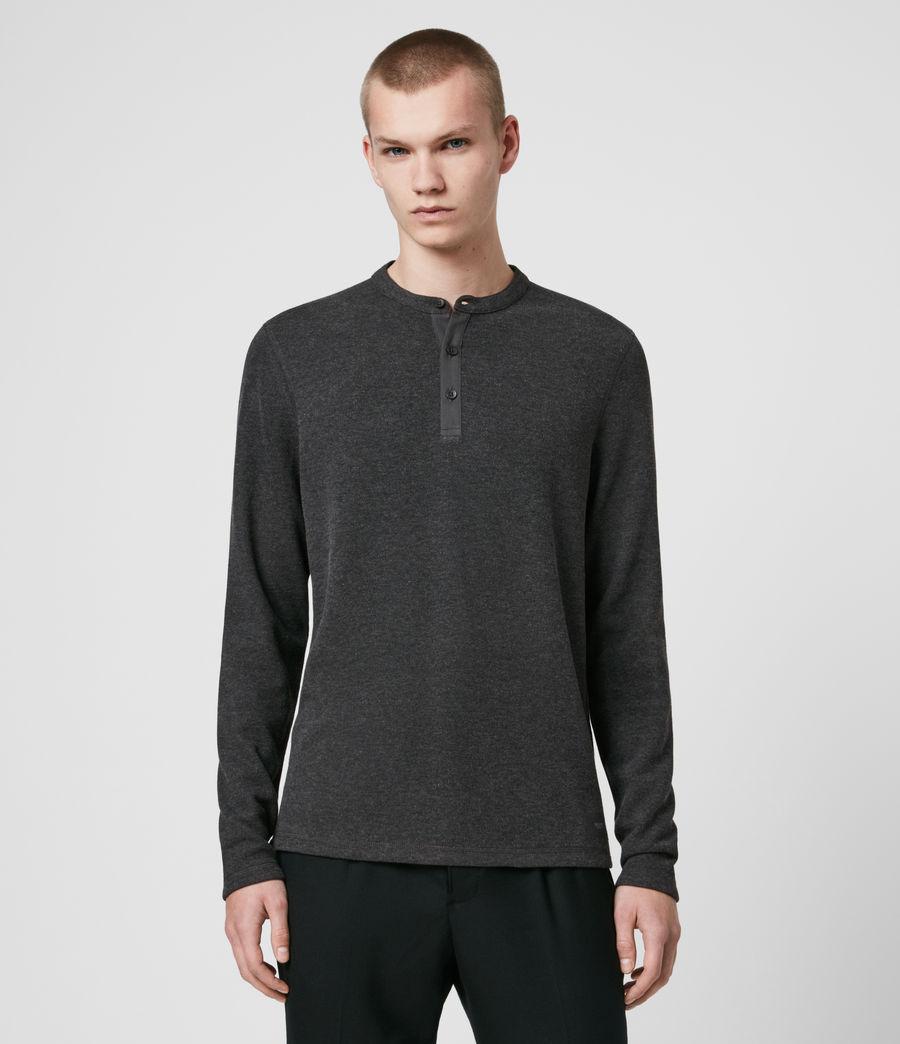 Men's Kiran Henley T-Shirt (charcoal_marl) - Image 1