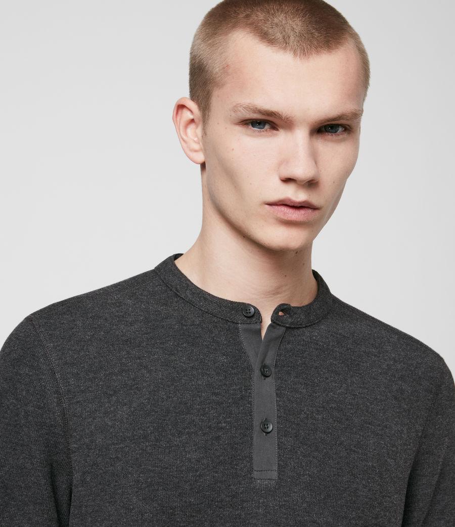 Men's Kiran Henley T-Shirt (charcoal_marl) - Image 2