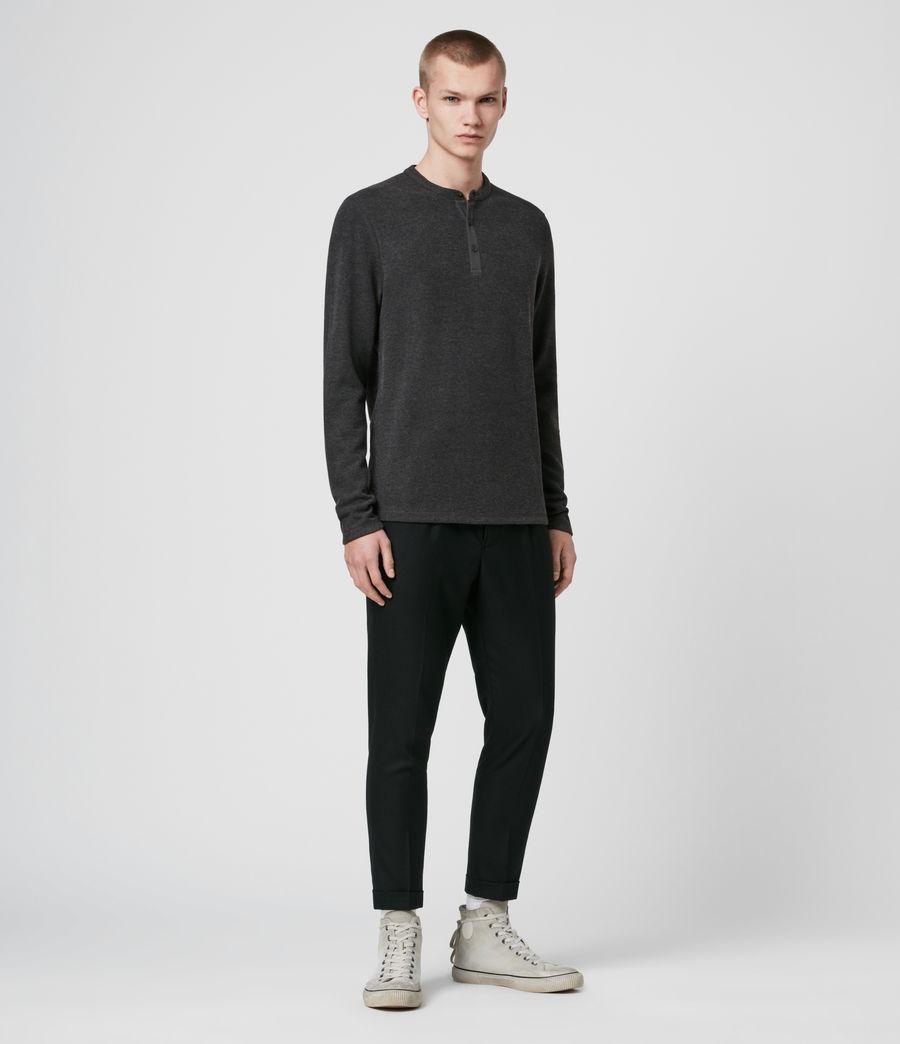 Men's Kiran Henley T-Shirt (charcoal_marl) - Image 4