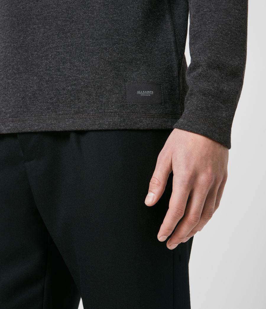 Men's Kiran Henley T-Shirt (charcoal_marl) - Image 5