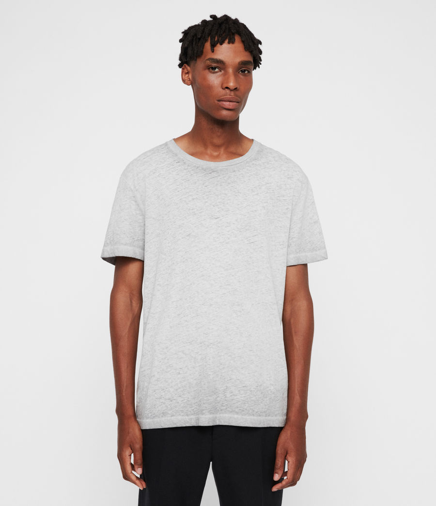 Uomo T-shirt Edgar (grey) - Image 1