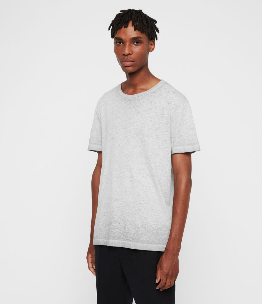 Uomo T-shirt Edgar (grey) - Image 4