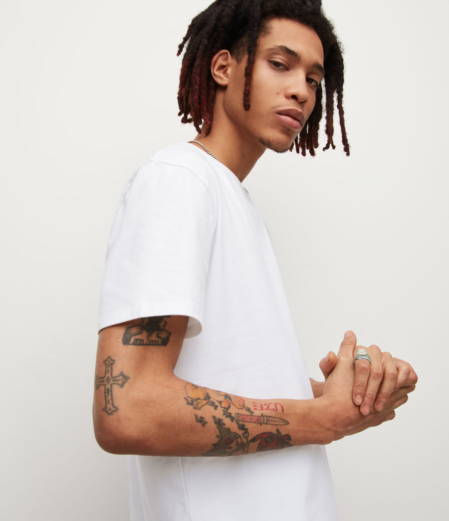 Men's Bodega Crew T-Shirt (optic_white) - Image 2