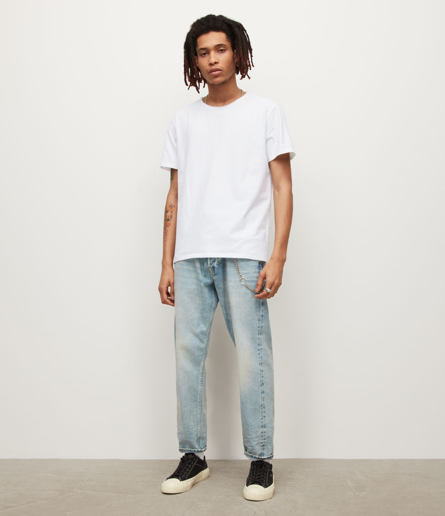 Mens Bodega Crew T-Shirt (optic_white) - Image 3