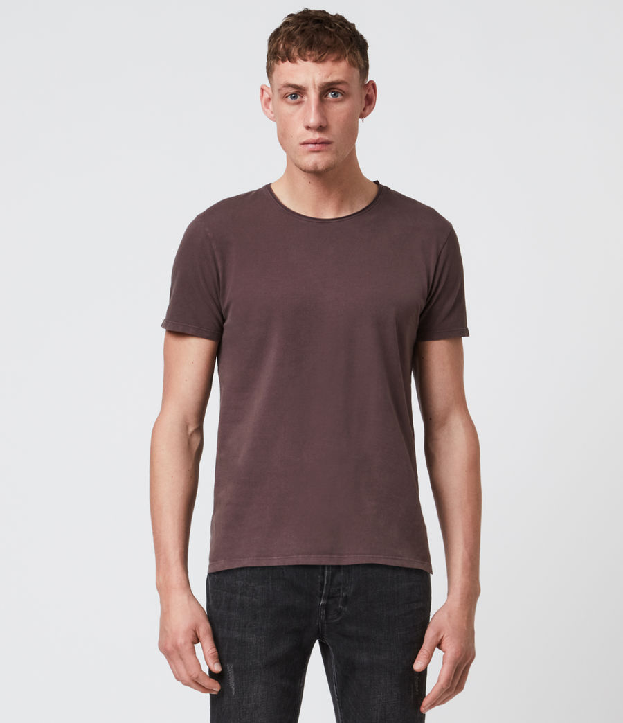 Mens Bodega Crew T-Shirt (dark_garnet) - Image 1