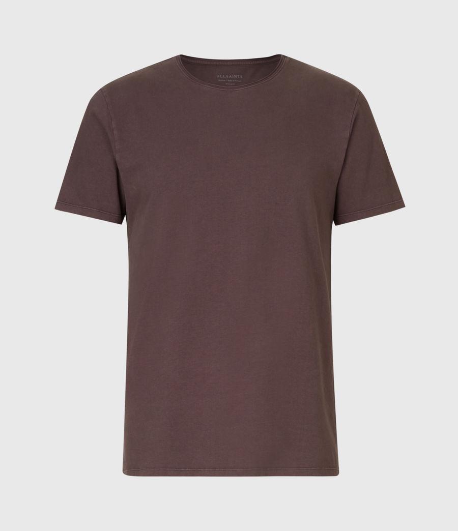 Mens Bodega Crew T-Shirt (dark_garnet) - Image 2