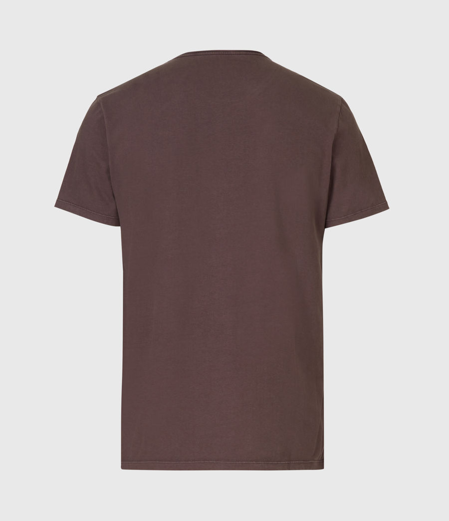 Mens Bodega Crew T-Shirt (dark_garnet) - Image 3
