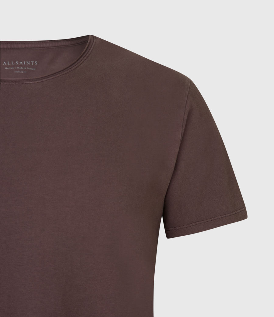 Mens Bodega Crew T-Shirt (dark_garnet) - Image 4