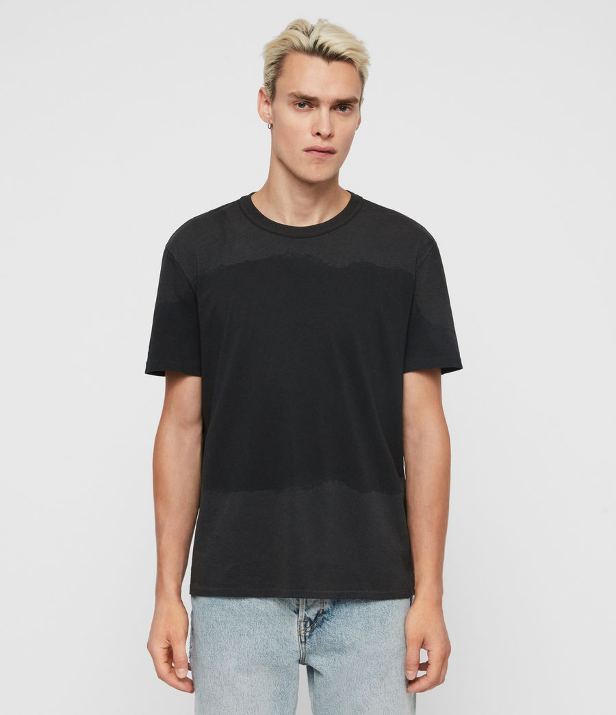 Men's Dexter Crew T-Shirt (jet_black) - Image 1