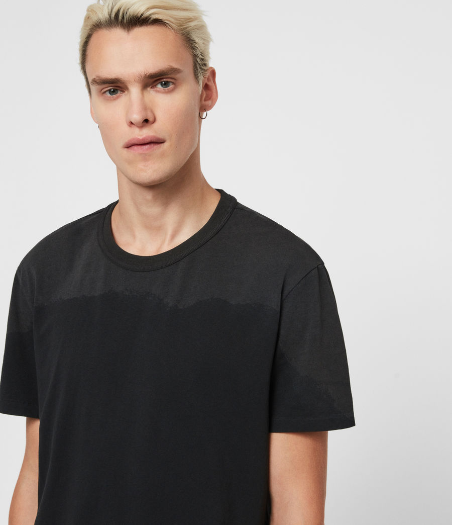 Men's Dexter Crew T-Shirt (jet_black) - Image 2