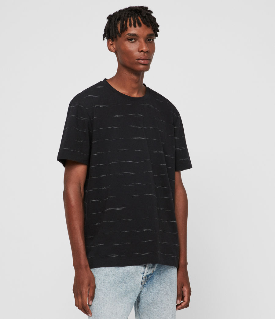 Men's Iggy Crew T-Shirt (jet_black) - Image 4