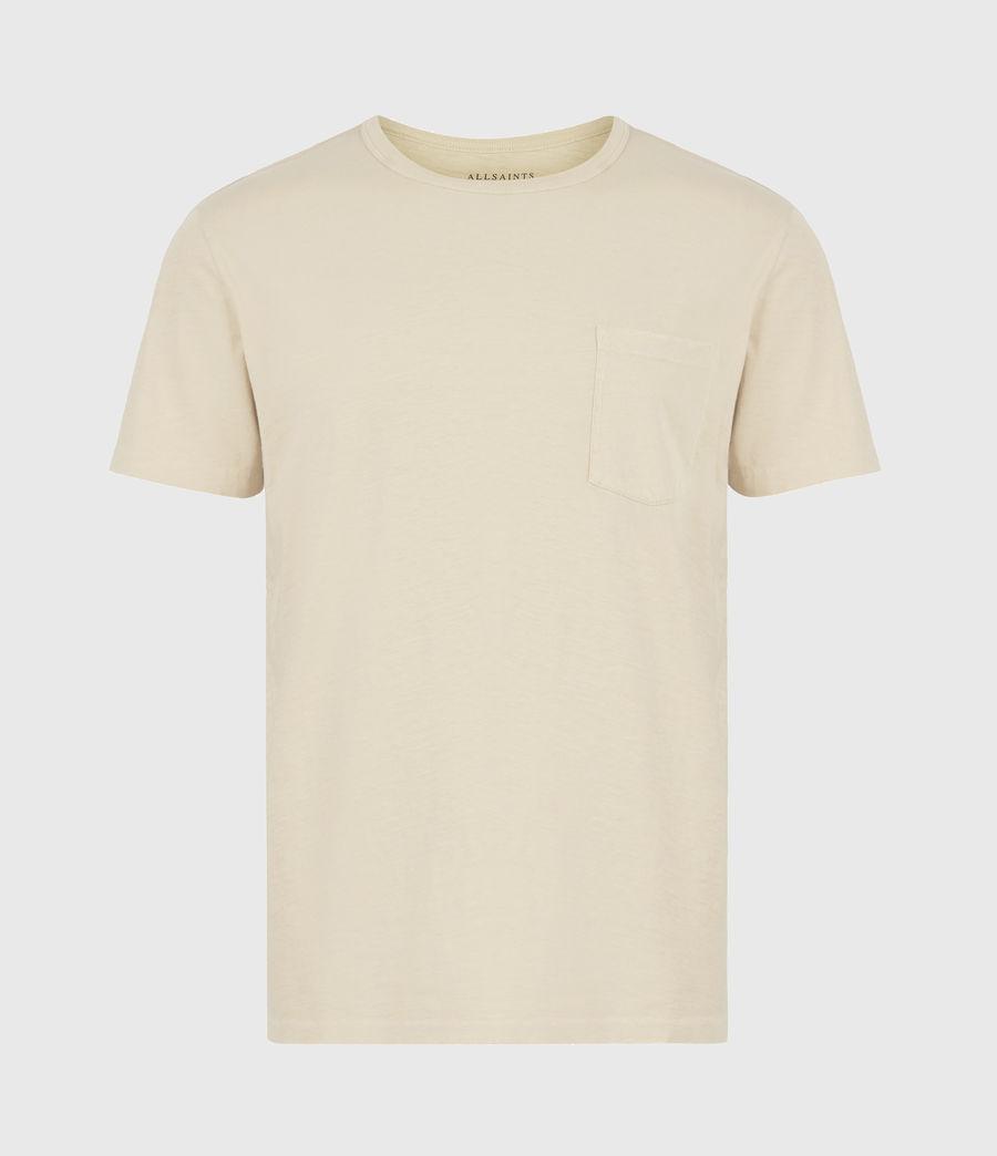 Mens Gage Organic Cotton Crew T-Shirt (cabana_yellow) - Image 2