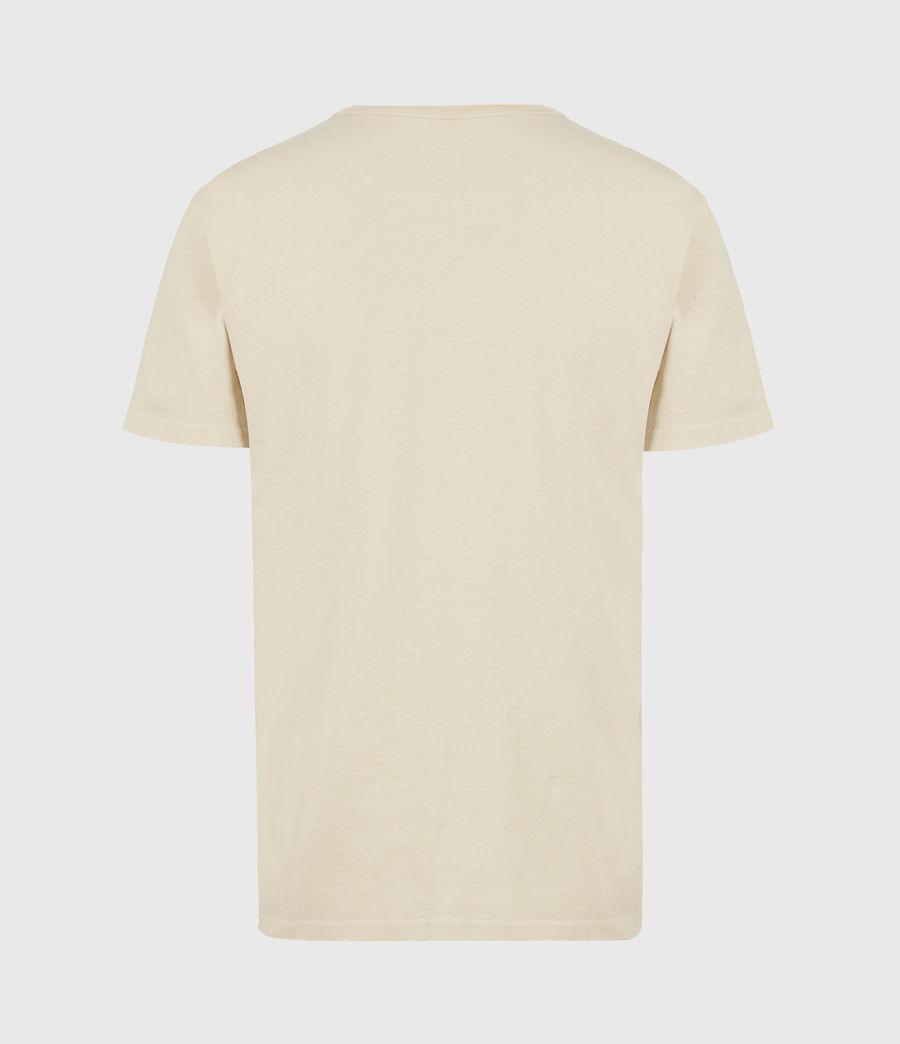 Mens Gage Organic Cotton Crew T-Shirt (cabana_yellow) - Image 3
