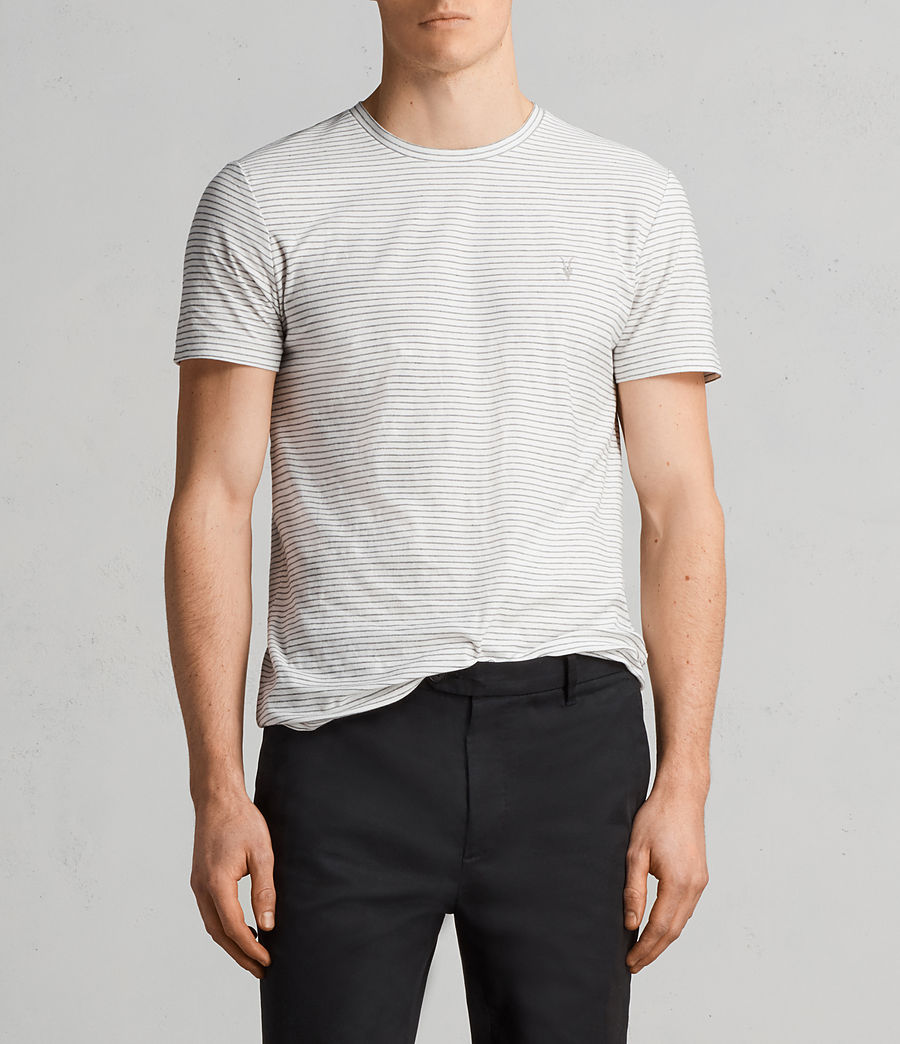 Hommes T-Shirt Suburb (chalk_white_black) - Image 1
