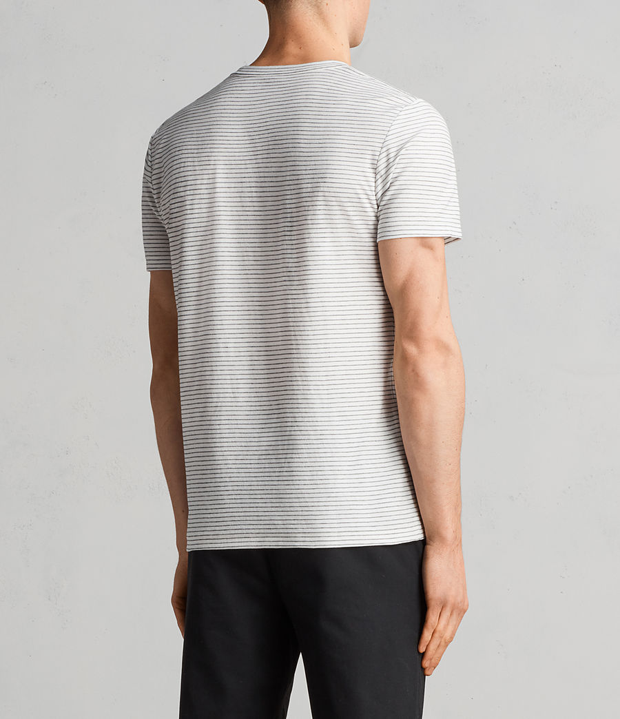 Hommes T-Shirt Suburb (chalk_white_black) - Image 5