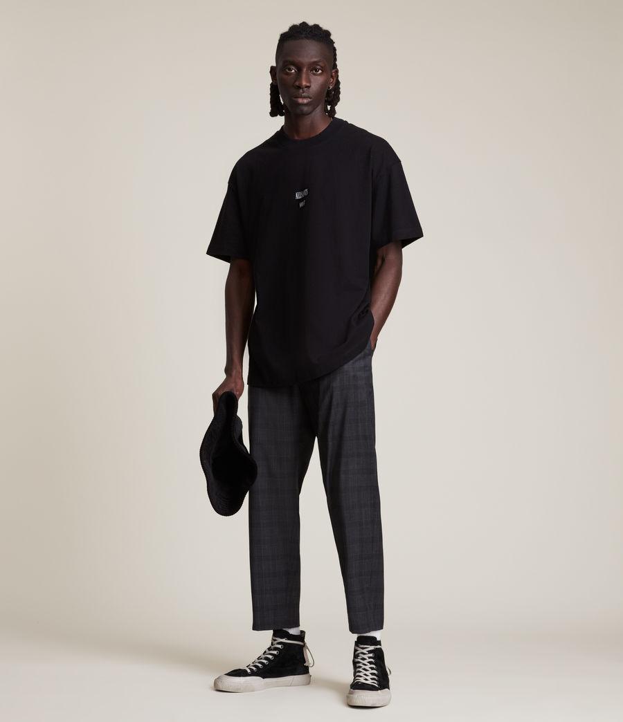 Men's Dixon Crew T-Shirt (jet_black) - Image 3