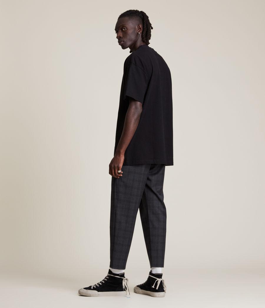 Men's Dixon Crew T-Shirt (jet_black) - Image 4