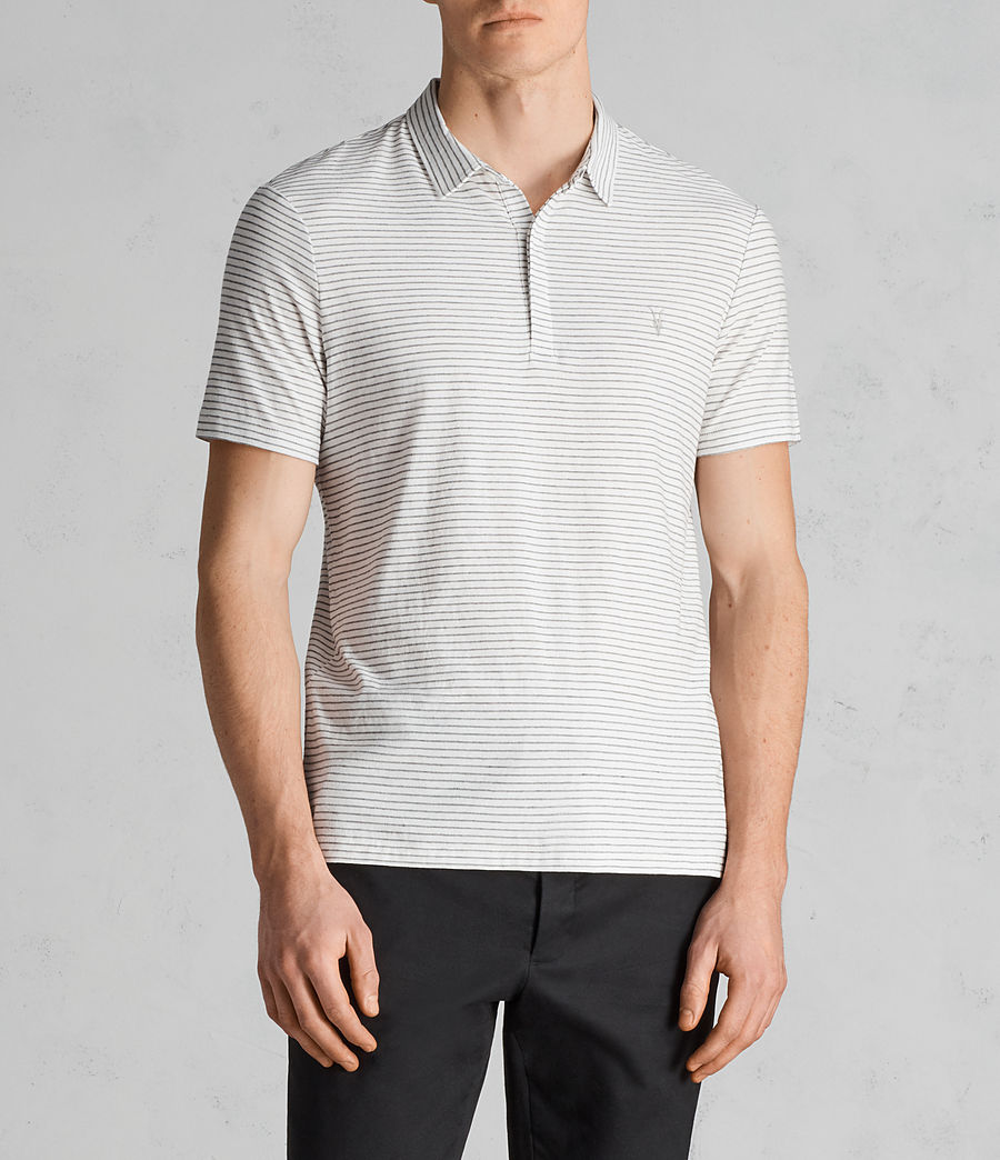 Uomo Polo Suburb (chalk_white_black) - Image 1