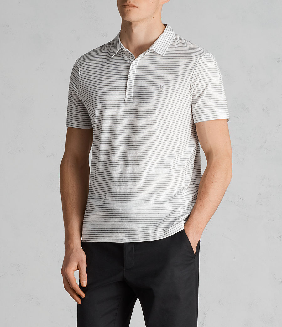 Uomo Polo Suburb (chalk_white_black) - Image 3