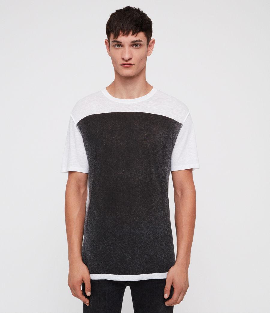 Mens Eudon Crew T-Shirt (white) - Image 1