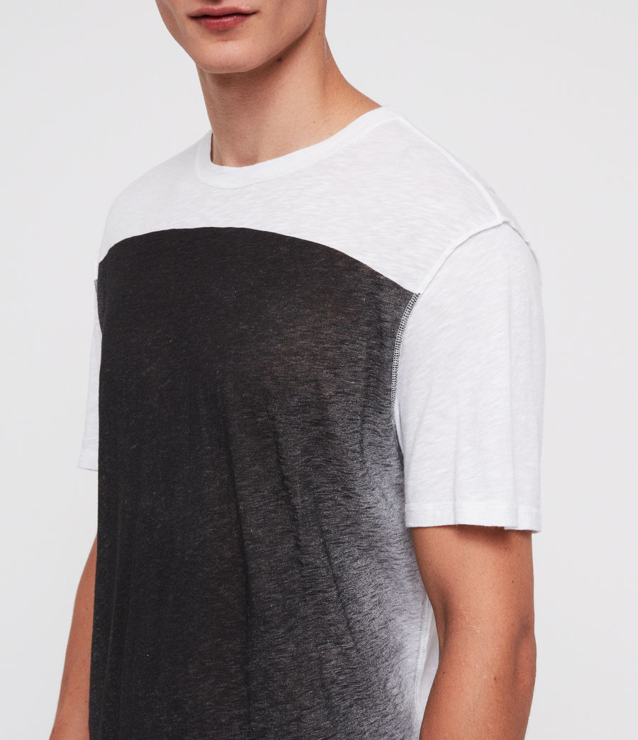 Mens Eudon Crew T-Shirt (white) - Image 2