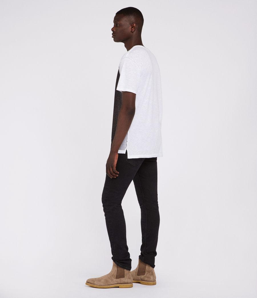 Mens Eudon Crew T-Shirt (white) - Image 4