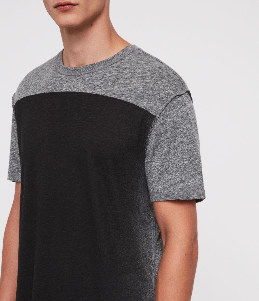 Hombre Eudon Crew T-Shirt (grey_mouline) - Image 2