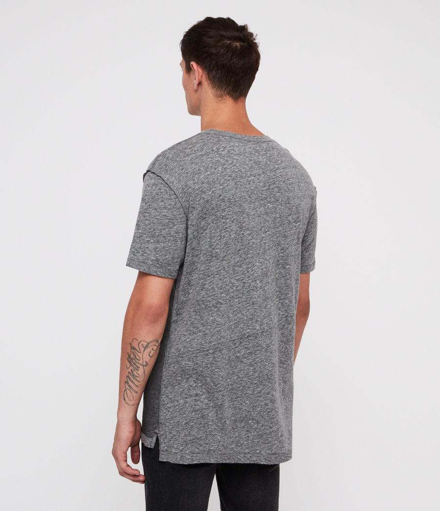 Hombre Eudon Crew T-Shirt (grey_mouline) - Image 4