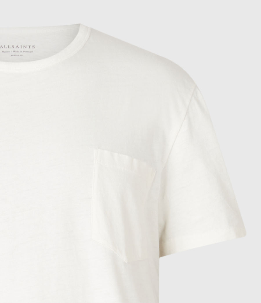 Men's Pilot Crew T-Shirt (chalk_white) - Image 9